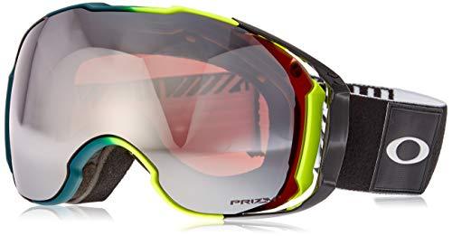 Oakley unisex-adult Airbrake Sunglasses, Schwarz/Rosa (corduroy fade/prizm black/prizm rose), Einheitsgröße