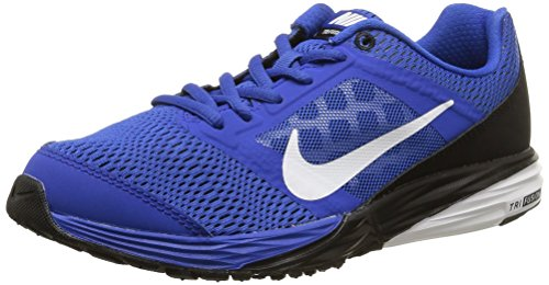 Nike Jungen Tri Fusion Run (Gs), blau/schwarz, 38 EU