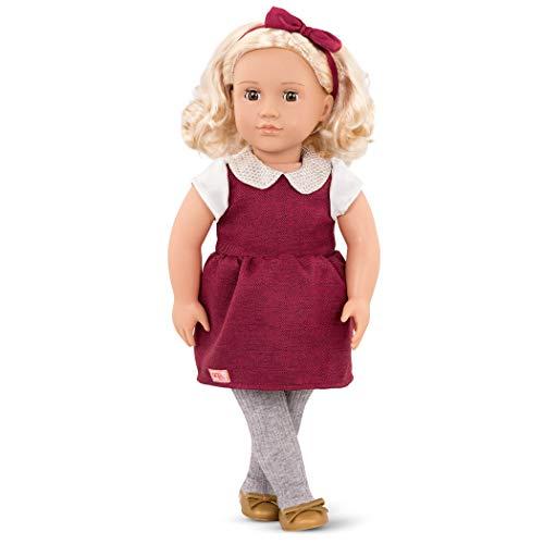 Ivory bambola per bambini dai 3 anni in su Our Generation BD31237Z