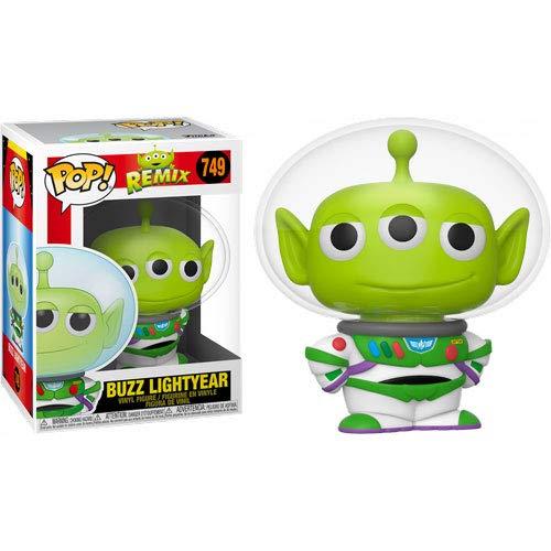Funko-Pop Disney Pixar: Toy Story-Alien as Buzz Figura Coleccionable, Multicolor (48361)