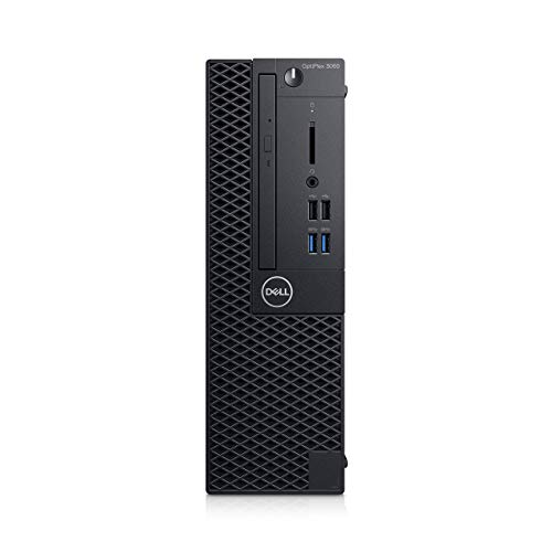 Dell Optiplex 3060 SFF Desktop PC Intel Core i5-8500 16GB RAM 512GB SSD Wifi Windows 10 Pro (1D1G7) (Renewed)