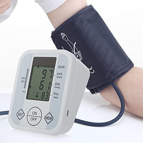 Kit De Cuidado De La Salud Del Hogar, Monitor de presión arterial del brazo Tarifa de latido del corazón Medidor de pulso Automático Tonómetro BP Medidor de presión médica de Tensiometría esfigémetro