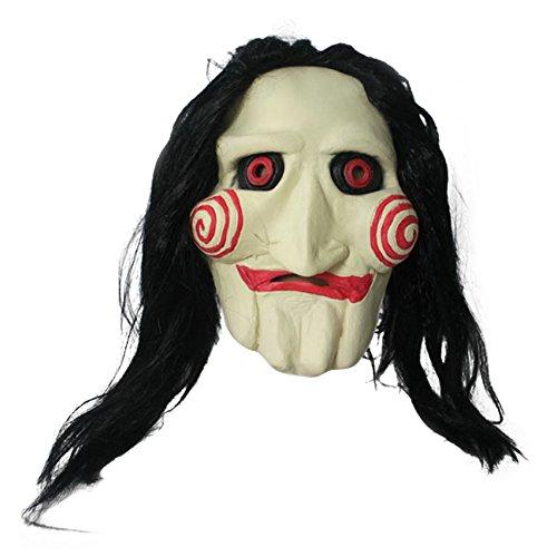 MissFox Halloween Tronçonneuse Massacre Creepy Effrayant Cosplay Masquer Comme Image