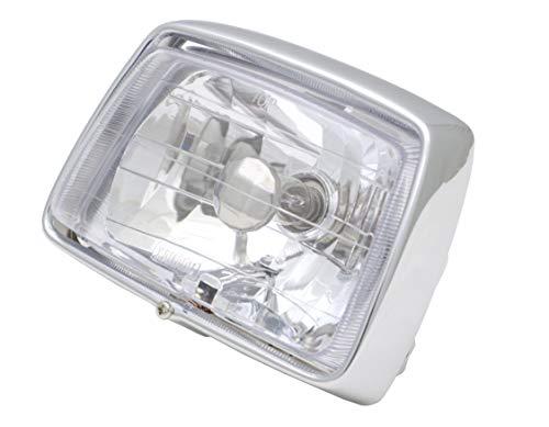 スーパーカブ カスタムタイプ用 マルチリフレクター ヘッドライト クリア