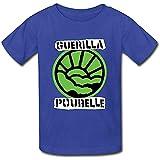 Photo de fazen Youth Heart Normal Fit Guerilla Poubelle T Shirt Blue M