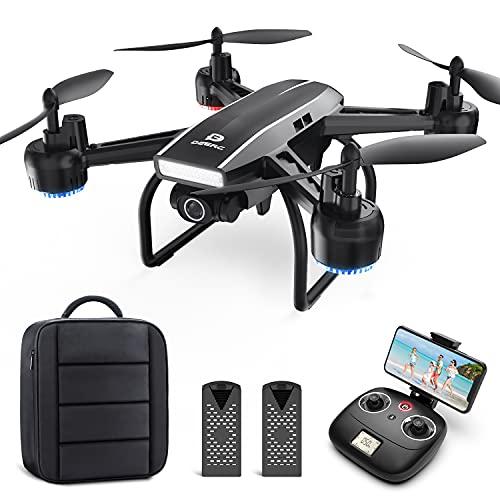 DEERC Drohne mit Kamera 1080P FHD Live...