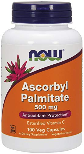 NOW Ascorbyl Palmitate 100 vcapsules, 500 mg