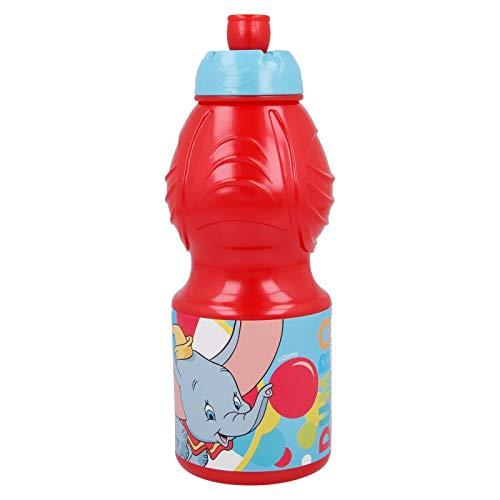 ALMACENESADAN 2639; Botella Sport Disney Dumbo; Capacidad 400 ml; Producto de plástico; No BPA