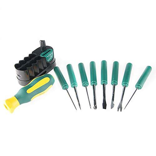 WNTHBJ Schroevendraaier Combinatie, Verwisselbare 10 Sets van Schroevendraaier Sets, Handgereedschap, Tablets, Meubilair Auto Reparatie Kit