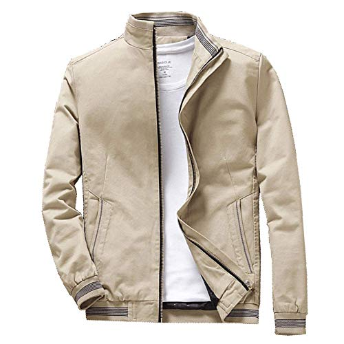 Claude Bomber Jacket | 4 Colors | USA Made/TAG (Beige, M)