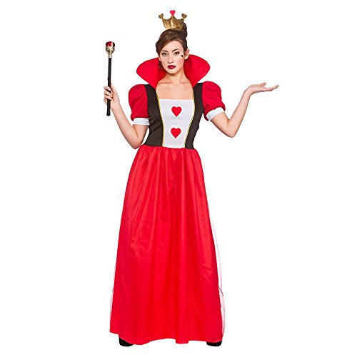 Storybook Queen Fairytale Ladies Fancy Dress Costume