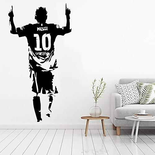 yaonuli muurtattoo, vinyl, decoratie thuis, voetbalstar, zelfklevend, voor kinderkamer