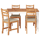 LERHAMN Table and 4 chairs - IKEA