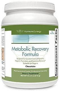Metabolic Recovery Formula Chocolate   Gastrointestinal, Hepatic and Intestinal Support*   26g Vegan Protein   Non-Gmo Pea/Rice   MeadowPure, Aminogen® & Quatrefolic®
