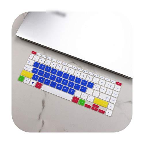 Keyboard Cover - Funda de teclado para Asus Vivobook S14 S433Fl S433F S433Fa 2020 S433 FL FA F-Candyblue