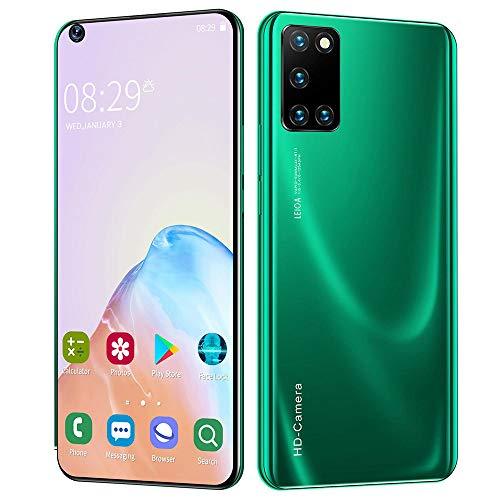 smart phone Teléfono Inteligente Teléfono móvil de 7,2 Pulgadas Teléfono móvil con Pantalla Grande Teléfono móvil Android Teléfono Inteligente Android Teléfono móvil Todo en uno Azul Negro Verde