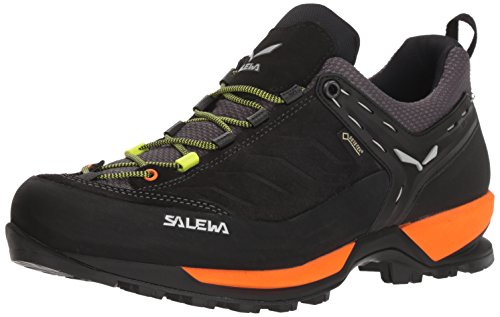 Salewa Ms Mtn Trainer GTX, Zapatos de Low Rise Senderismo para Hombre, Negro (Black out/Holland 8668), 45 EU