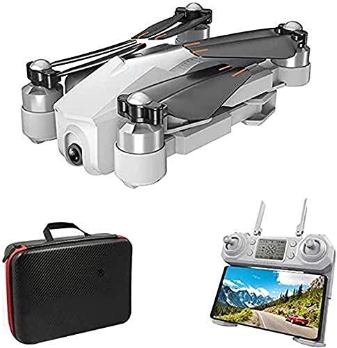ZHCJH Drone HD Gran Angular 1080P 4K Light Flow Mini Drone Plegable WiFi FPV Drone con cámara para Principiantes Cuadricóptero RC Plegable Ajuste de Velocidad de detección de Gestos Despegue y