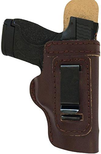 Custom Made Hand FIT Leather Holster Mahogany RH Right...
