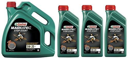 Castrol Magnatec Start-Stop 5W-20 E Synthetische Motorolie, 7 liter