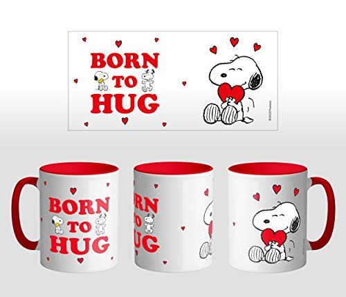 ERT GROUP PNMGSNOOPY017 Tazas de café y vasos, cerámica