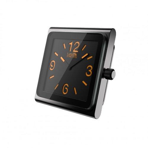 Lunatik - Reloj analógico para iPod Nano 6G, color negro y naranja [Importado del Reino Unido]