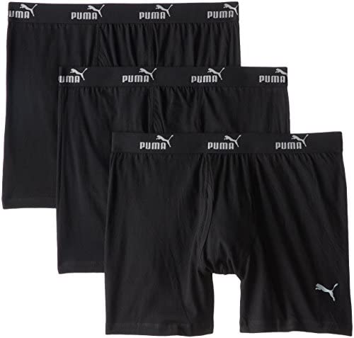 PUMA Men s 3 Pack Boxer Brief Black X Large product image