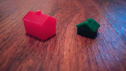 Monopoly House and Hotel Pack (32 Houses, 12 Hotels)