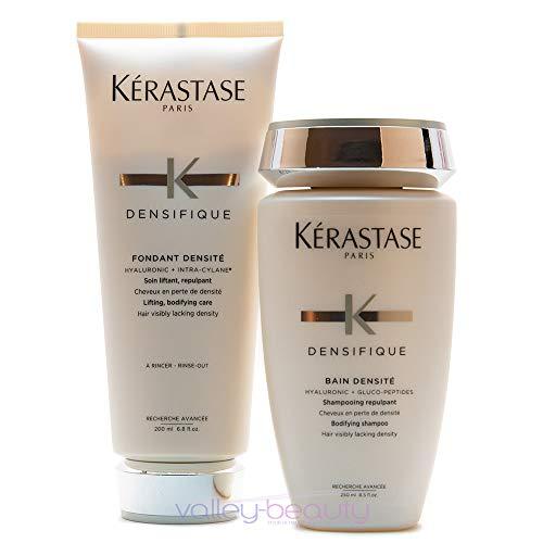 KERASTASE Densifique Bain Densite 8.5 oz and Fondant Densite 6.8 oz, 1 Count