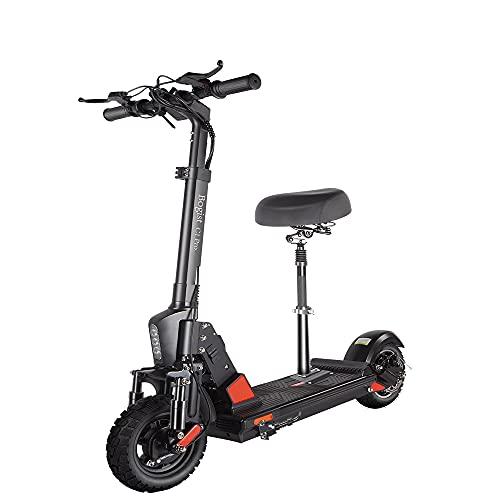 Bogist C1 Pro Patinete Electrico con Asiento, Patinete Electrico Adultos, Velocidad máxima 45 km / h, Motor de 500w