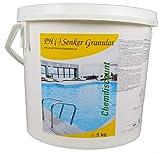 5kg pH Senker fest (pH -, pH minus) (Pulver, Granulat, Feststoff)