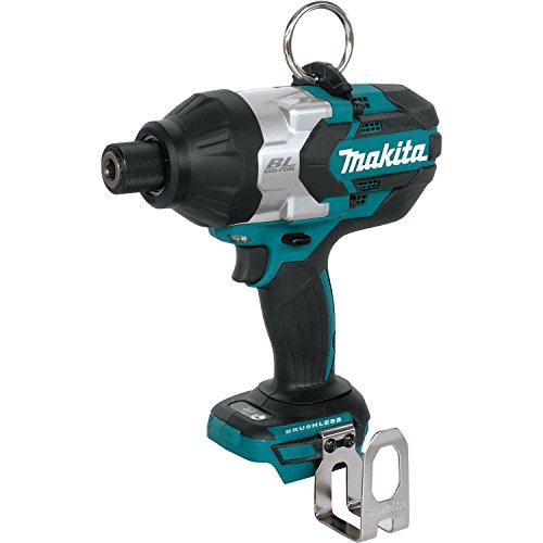 Makita XWT09Z LXT Lithium-Ion Brushless Cordless High Torque Hex Impact Wrench, 18V/7/16'