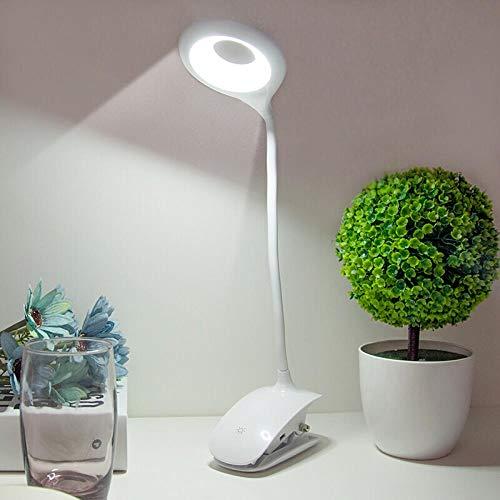 Nachtlampje, led, veilig opladen, clip, tafellamp, student, student, student, slaapkamer, nachttafellampje, geleid leeslampje, dimbaar