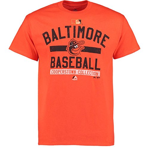 "Baltimore Orioles Majestic MLB ""Team Property"" Cooperstown Short Sleeve T-shirt"