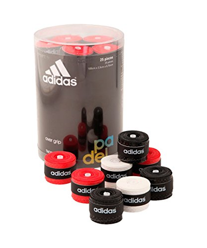All for Padel Box of overgrip 25 Units Grip, Adultos Unisex, Mix, Talla Única