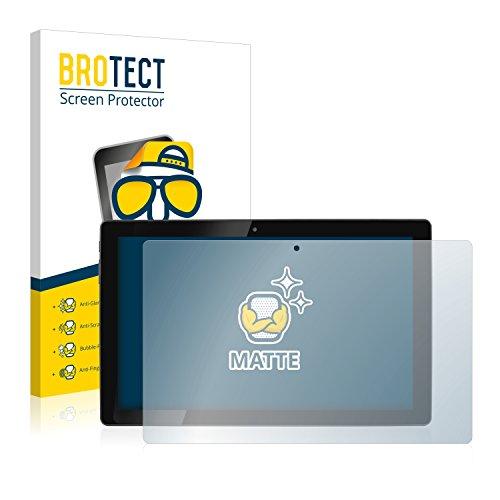 BROTECT 2X Entspiegelungs-Schutzfolie kompatibel mit Hannspree HannsPad Poseidon SN12TP1B Bildschirmschutz-Folie Matt, Anti-Reflex, Anti-Fingerprint