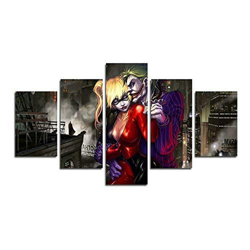 41JQFYHZ4tL Harley Quinn Paintings