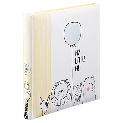"""Hama Babyalbum """"My Little Me""""(Baby-Fotoalbum mit 60 Seiten für Mädchen und Jungen, Kinder-Fotobuch für ca.300 Fotos, Photoalbum zum Selbstgestalten und Einkleben mit Motiv,Album-Format 29x32cm) beige"""