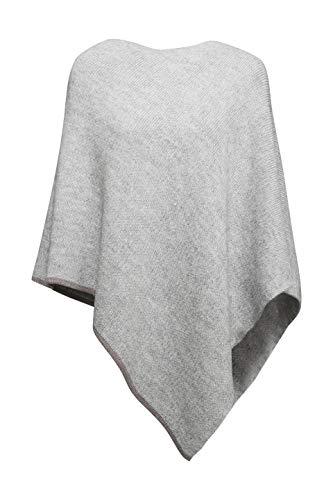 ESPRIT Accessoires Damen 090EA1Q312 Mode-Schal, Light Grey (040), Medium