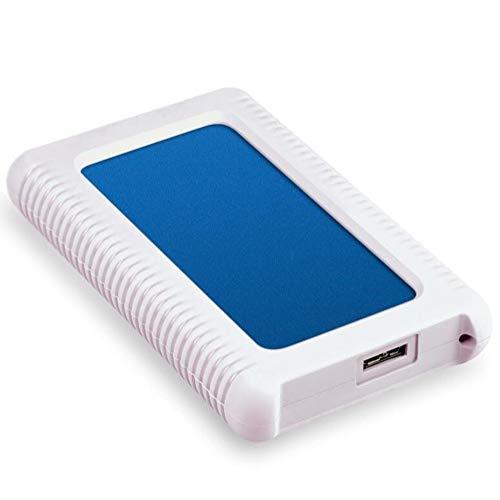 Discos Duros Externos Interfaz USB 3.0 129 * 83 * 19.5 DifíCil Funda De Silicona Anti-CaíDa De Dos Metros. Cifrar Disco Duro Externo (100GB, Rojo) (100GB, Azul)