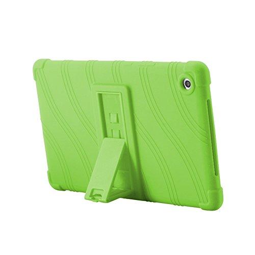 Deylaying Funda Tablet - Protector Bolsa Caja Suave Silicona Caucho Caso Cáscara para Huawei MediaPad M5 8.4 Pulgadas 2018 Tablet