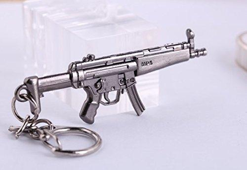 MP5 Schlüsselanhänger aus Shooter Games MP5 | Gewehr | Pistole | Waffe | Geschenk | Counter | Schuss | MP-5