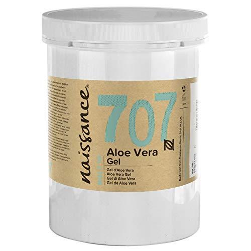 Naissance Gel d'Aloe Vera (n° 707) - 1kg - vegan, non testé sur les animaux - apaisant et rafraîchissant pour la peau