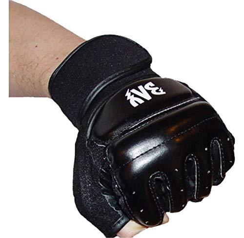 """BAY® """"FIT"""" schwarz Größe L - Leder-PU, Boxhandschuhe Sandsackhandschuhe Gerätehandschuhe Boxsackhandschuhe, Ballhandschuhe, Trainingshandschuhe, Handschuhe Boxsack Sandsack Handschutz Faustschutz Knöchelschutz"""