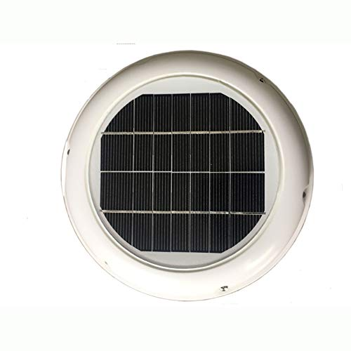 ALBBMY 2.5w Solar Ventilator Fan Automatic Ventilation Used For Bathroom Shed Home Conservations Caravans Boats Green House Exhaust Fans
