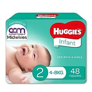 Huggies Newborn Nappies Size 2 (4-8kg) 48 Count (B07JFXJRW9) | Amazon price tracker / tracking, Amazon price history charts, Amazon price watches, Amazon price drop alerts