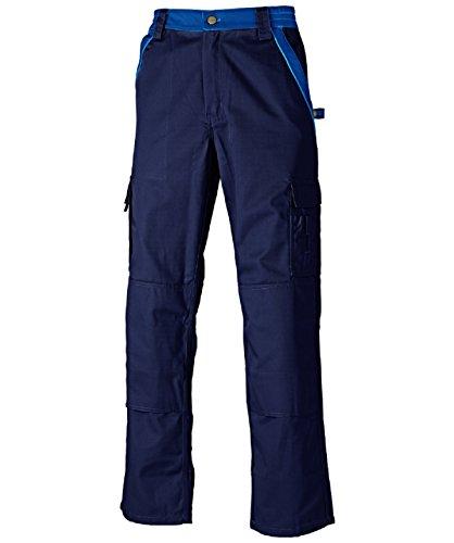 Dickies Arbeitshose,Robuste Industry-Serie,300g/m Größen, Bundhose aus 65% Polyester/35% Baumwolle (52, Marineblau/Kornblau)