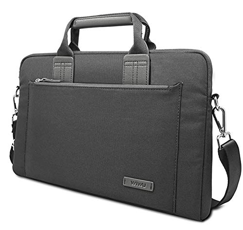 Business Topbag, 15-Inch Nylon Laptop Bag Shoulder Messenger Bag and Briefcase with Handles and Straps for Computers 15-15.6 Inch