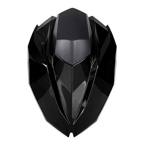 JFG RACING Cubierta para asiento trasero de motocicleta para Kawasaki Z800 2013-2016 (negro)
