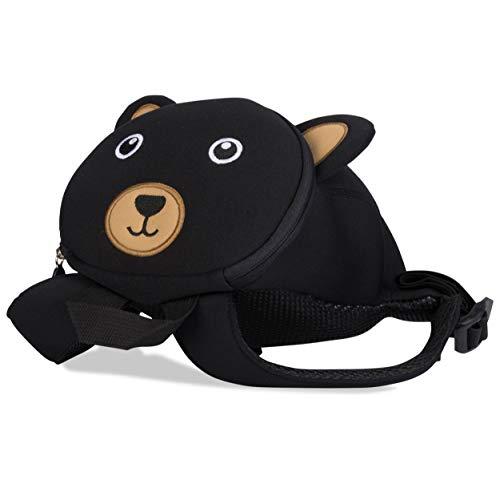 Kinderrucksack für Kleinkinder Kindergarten Rucksack für Kinder Backpack Schultasche Tier-Rucksäcke 2-6 Jahre Wasserfest, Leichtgewichtig, ergonomische Träger und extrem Robust (Bär)